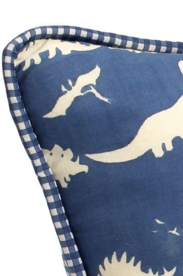 Dinosaur Blue Cushion