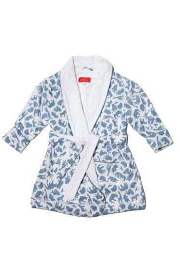 Safari Blue Dressing Gown
