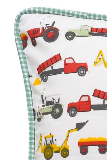 Tractor Colour Cushion