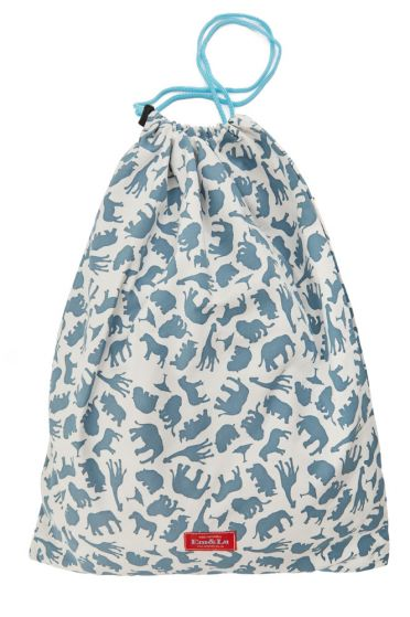 Safari Blue Laundry Bag