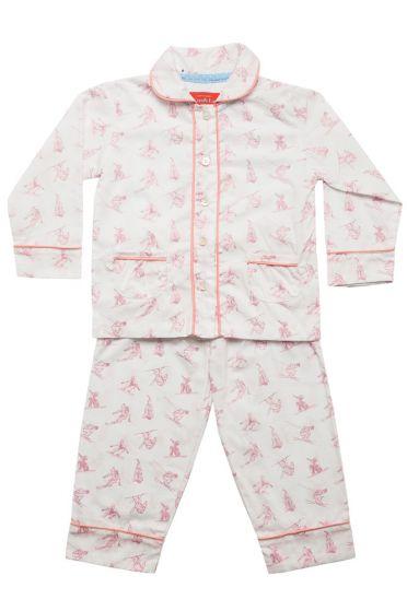 Skiing Pink Classic Pyjama
