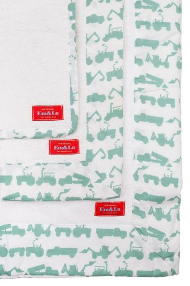 Tractor Green Towel Collection