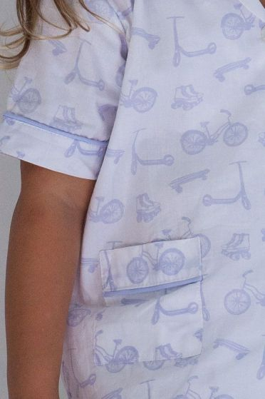 Bicycle Lilac Short Pyjamas