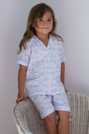 Bicycle Lilac Short Pyjamas
