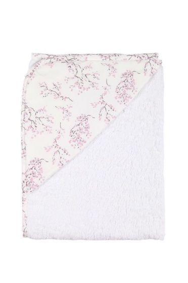 Lilac Blossom Hooded Towel