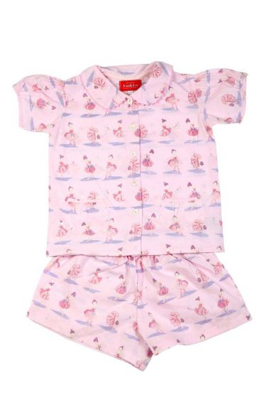 Ballerina Pink Short Pyjamas
