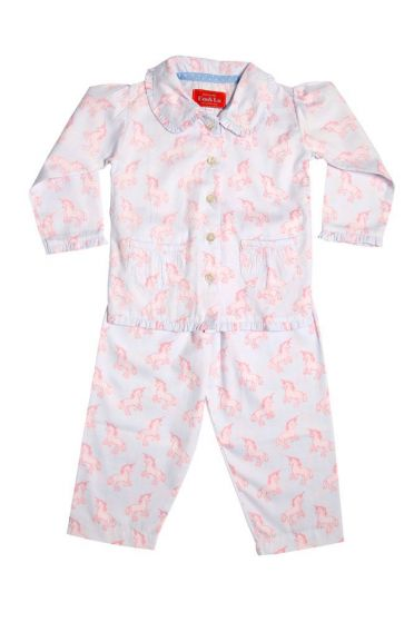 Unicorn Frill Collar Pyjama