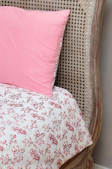 Red Blossom Duvet Cover