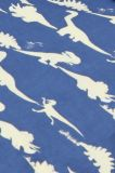 Dinosaur Blue Duvet Cover