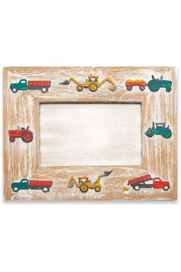 Tractor Colour Photo Frame