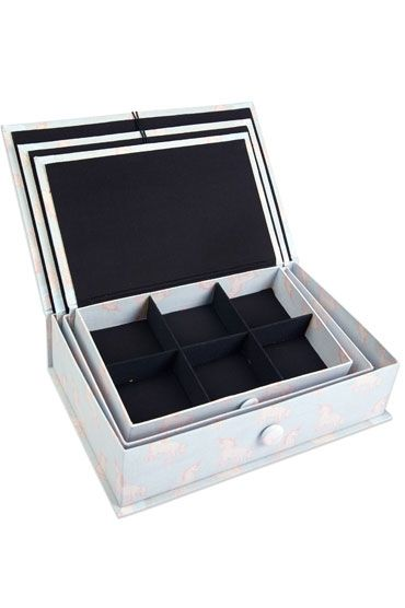 Unicorn Fabric Box Set Open