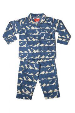 Dinosaur Blue Classic Pyjama