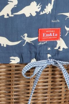 Dinosaur Blue Laundry Basket