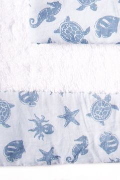 Ocean Blue Towel Collection