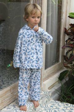 Safari Blue Classic Pyjama