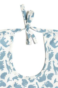 Safari Blue Bib