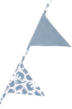 Safari Blue Bunting