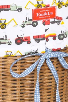 Tractor Colour Laundry Basket