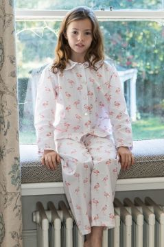 Flamingo Frill Collar Pyjama