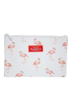 Flamingo Sponge Bag