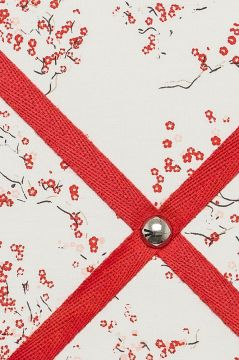 Red Blossom Picture Board