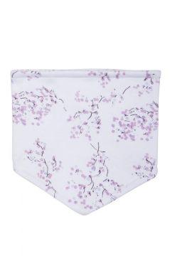 Lilac Blossom Dribble Bib