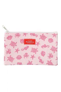 Ocean Pink Sponge Bag