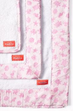 Ocean Pink Towel Collection