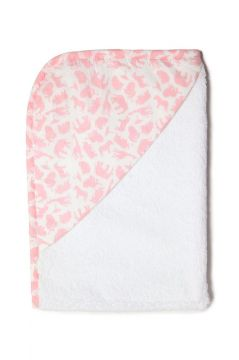 Safari Pink Hooded Towel