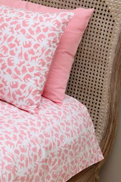Safari Pink Duvet Cover