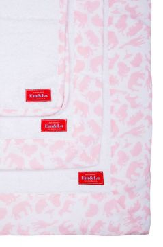 Safari Pink Towel Collection