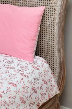 Red Blossom Duvet Cover