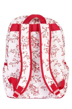 Red Blossom Backpack