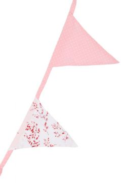 Red Blossom Bunting