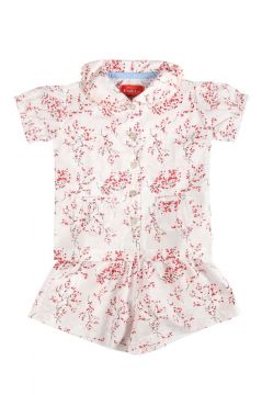 Red Blossom Short Pyjamas