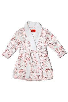 Red Blossom Dressing Gown
