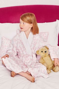 Safari Pink Dressing Gown