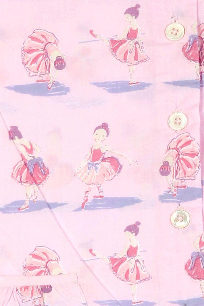Ballerina Pink Short Pyjamas Short Pyjamas Girls Em