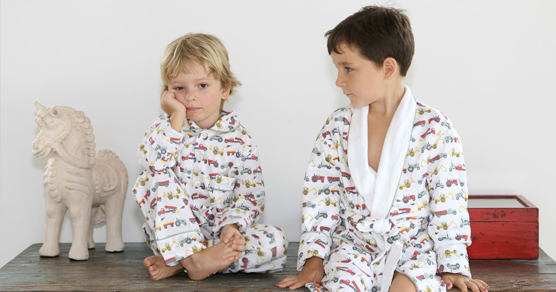 Em&Lu Girls Boys Pyjamas & Dressing Gowns